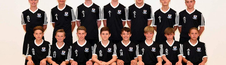 Boys 15's squad 2016-17