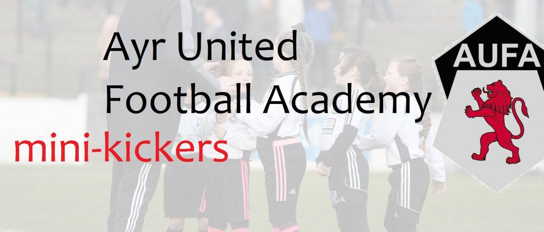 Ayr United Football Academy   Mini Kickers
